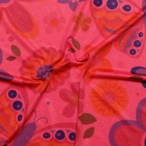 Custom Printed Elastane 300 FLUO Pink