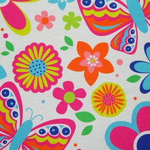 Custom Printed Elegant Fabric