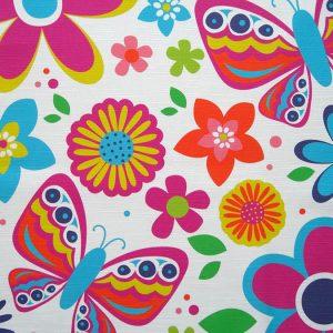 Custom Printed Linen look Cotton