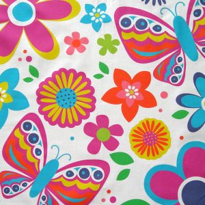 Custom Printed Voile 100% Cotton