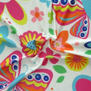 custom printed Knitted fabric
