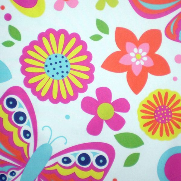 custom printed bedlinen fabric