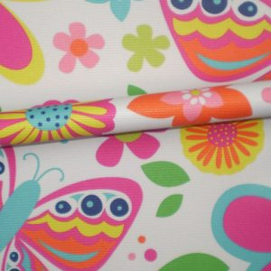 custom printed summer fabric